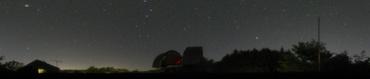360°星景色写真 2008年5月3日 城里町ふれあいの里天文台にて