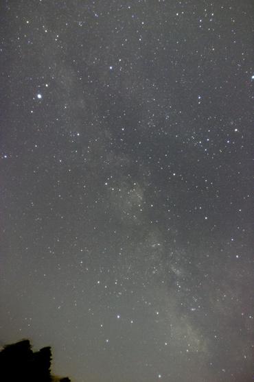 たて座付近の天の川 2009年4月28日