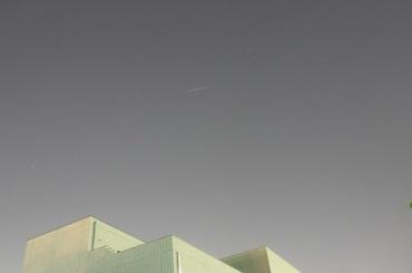 Iridium 65 による閃光 2009年5月19日 20:17:38頃