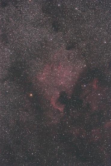 北アメリカ星雲 2009年7月20日撮影