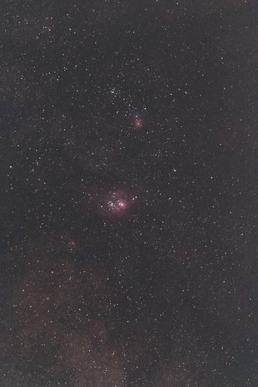 干潟星雲付近 2010年5月18日