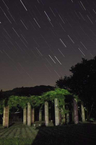 笠間市北山公園 モニュメント広場にて 2010年6月2日