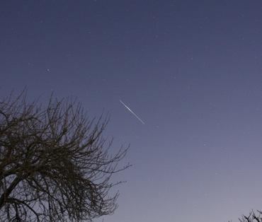 「こうのとり」の軌跡 2011年1月25日 午前4時47分頃