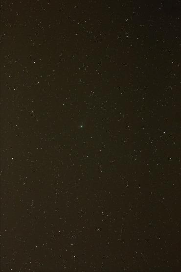 2012年1月18日早朝のギャラッド彗星