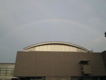 東海村の空にかかる見事な虹 その2