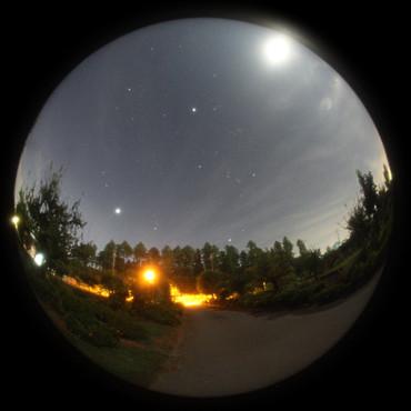 明け方の東の空 2012年9月5日