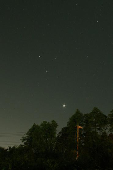 明けの明星 2012年9月7日