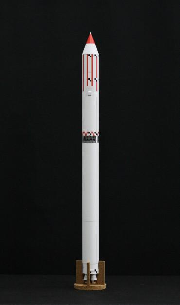 1/100スケールペーパークラフトによる ゼニット-2