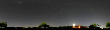 360°パノラマ星景写真 2007年5月12日 自宅にて