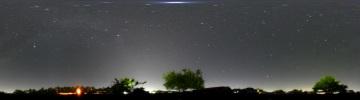 360°パノラマ星景写真 2007年5月16日 自宅にて