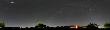360°パノラマ星景写真 2007年5月28日 自宅にて