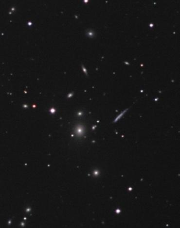 しし座銀河団(Abell1367) 2005年1月撮影