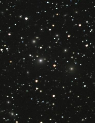 ペルセウス座銀河団(Abell426) 2007年9月撮影