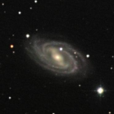 おおぐま座の系外銀河M109