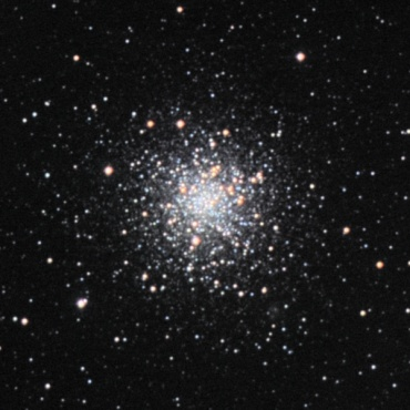 へびつかい座の球状星団M12 2006年4月撮影
