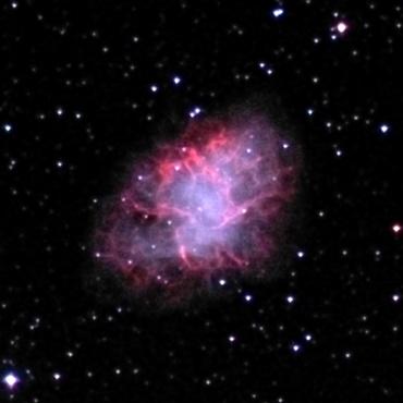 かに星雲 2002年10月18日撮影