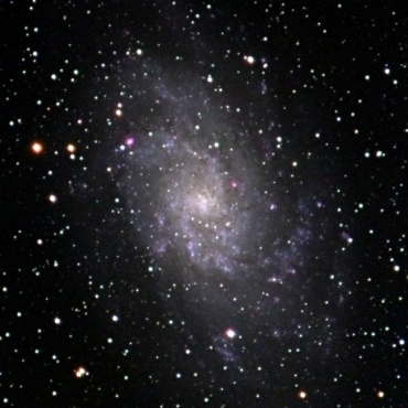 さんかく座の系外銀河M33