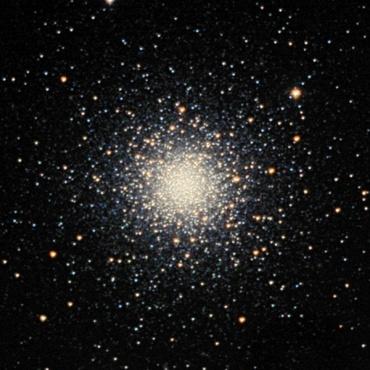 りょうけん座の球状星団M3 2003年2月撮影