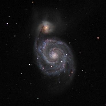子持ち銀河 2003年2月7日撮影