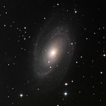 系外銀河M81 2002年12月12日撮影