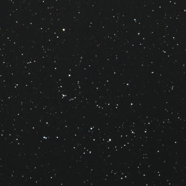 散開星団Mel.111 2007年2月16日撮影