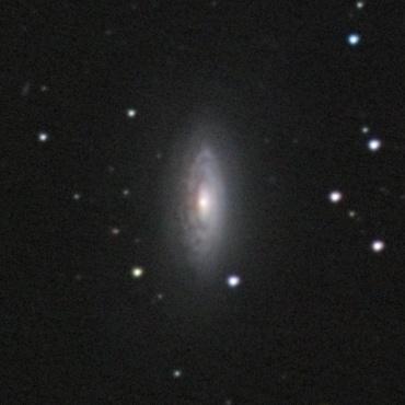 おおぐま座の系外銀河NGC3675 2008年1月6日 自宅にて