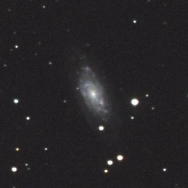 りゅう座の系外銀河NGC6015 2008年4月2日撮影