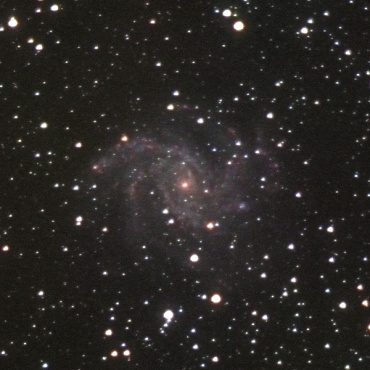 ケフェウス座の系外銀河NGC6946