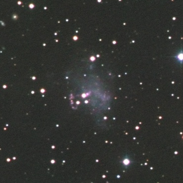 """おおぐま座の系外銀河UGC4305""""Holmberg II"""""""