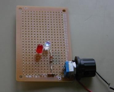LEDの点灯実験