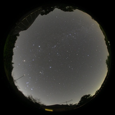 2007年10月7日 城里町ふれあいの里天文台にて