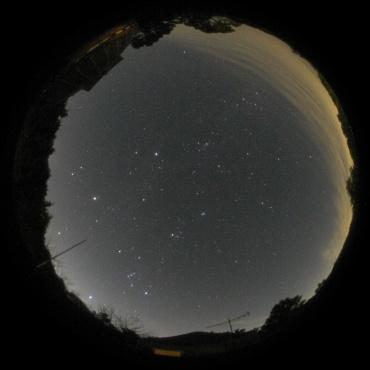 2007年11月4日 城里町ふれあいの里天文台屋上にて