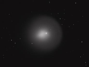 ホームズ彗星 城里町ふれあいの里天文台にて撮影