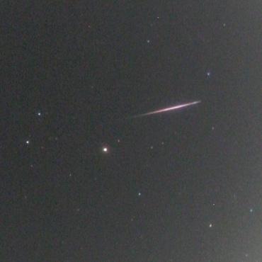 2007年11月15日早朝の火球