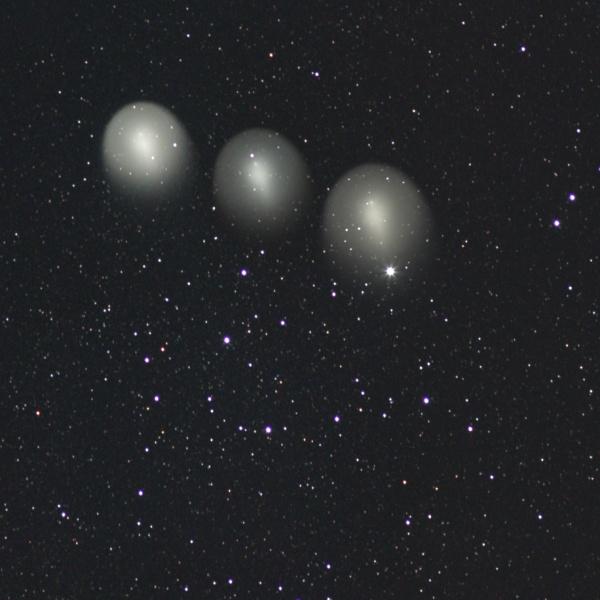 ホームズ彗星の変化