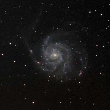 おおぐま座の系外銀河M101