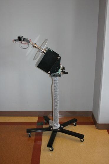 かわべ天文公園「手作りプラネタリウムプロジェクト」の駆動装置