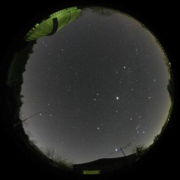 2007年12月16日 城里町ふれあいの里天文台にて