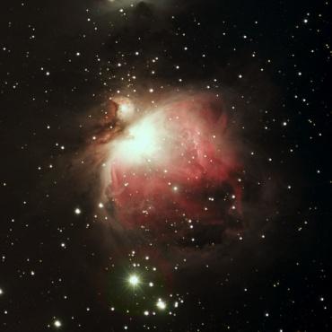オリオン大星雲 2004年10月22日撮影