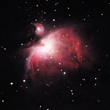 オリオン大星雲 2001年1月撮影