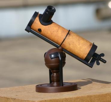 「大人の科学」付録「ニュートンの反射望遠鏡」