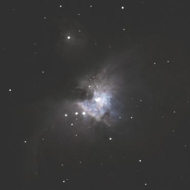 オリオン大星雲の眼視イメージ