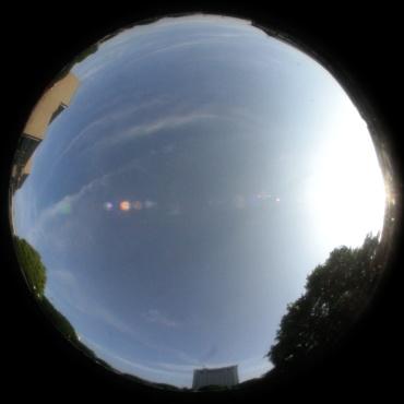 2008年6月10日16:20頃の空