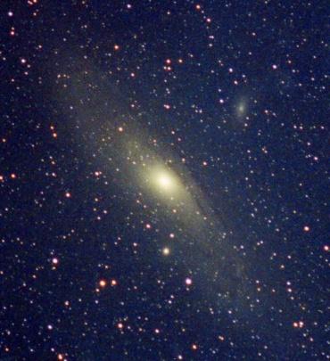 アンドロメダ銀河 2000年11月撮影
