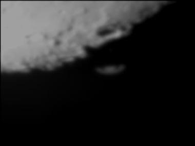 土星食2002年1月25日 千葉県富津市にて