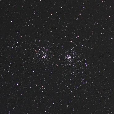 ペルセウス座の二重星団 2008年10月28日