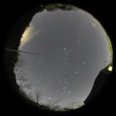 2009年1月3日 城里町ふれあいの里天文台にて