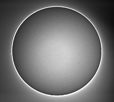 Hαによる太陽像 2009年2月7日