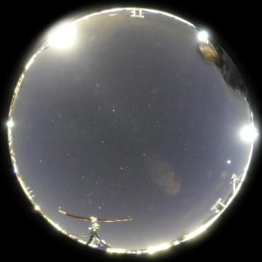 2009年2月14日 パラボラのまちの星祭り会場にて