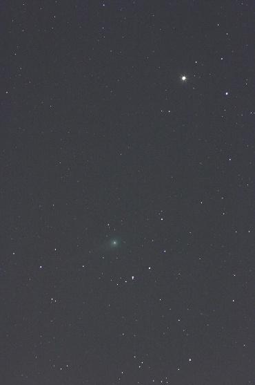 鹿林彗星と土星 2009年2月23日